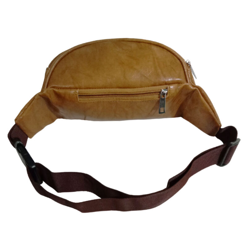 Elegant Genuine Leather Waist Pouch - Image view 2