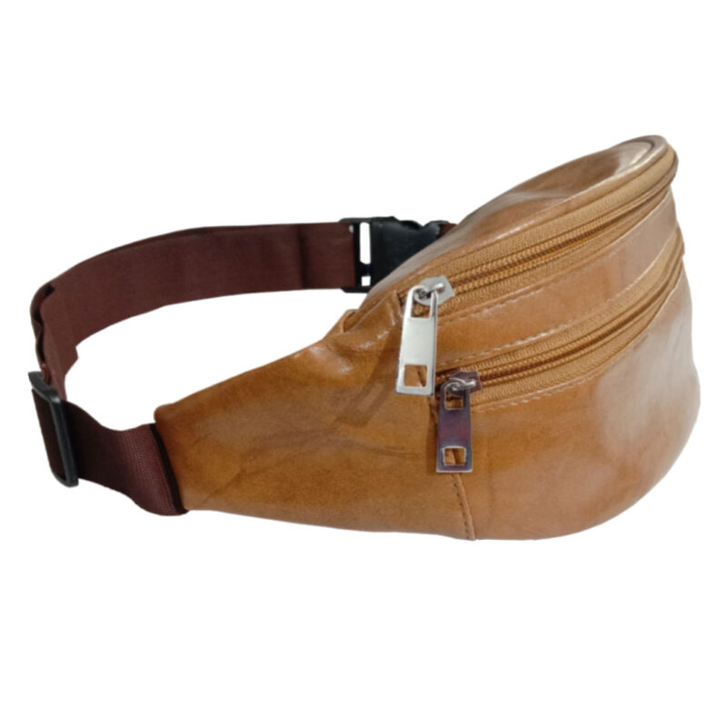 Elegant Genuine Leather Waist Pouch - Image view 3