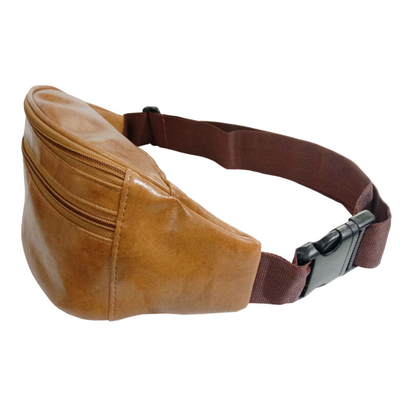 Elegant Genuine Leather Waist Pouch - Image view 4