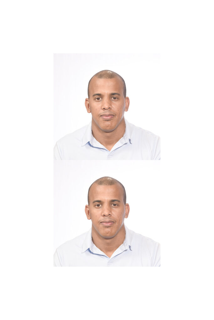 Cuban Passport Photo
