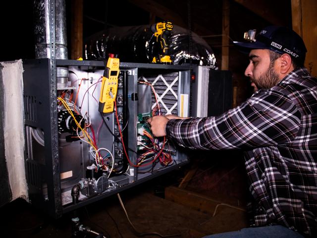 Furnace Repair - Denton, Texas