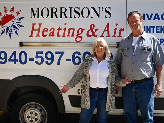 Pat and John Morrison - Denton, Texas