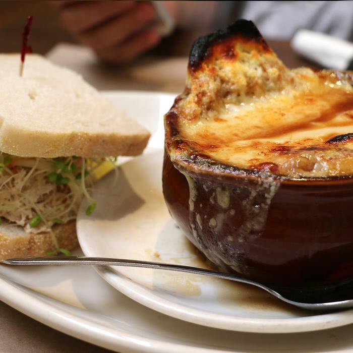 Baked French Onion & 1/2