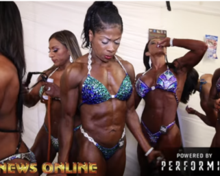 """2018 NPC North American Women's Physique """"A"""" BackStage Video"""