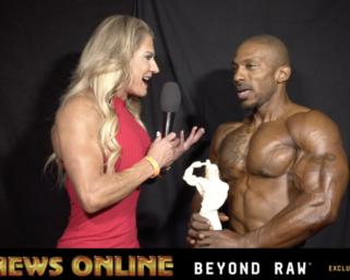 2018 NPC NationalsMen's Physique Overall Winner Traveon Daniels Interview