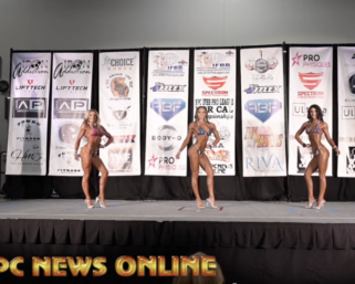 2020 NPC Northern California Open Novice Bikini Finals Video