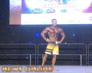 2020 IFBB Pro League SouthEast Texas Men's Physique Winner Daniel Ammons Posing Routine