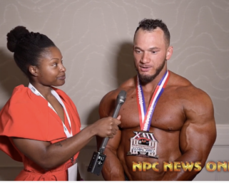 2020 IFBB Pro League Tampa Pro Bodybuilding  Winner Hunter Labrada After Show Interview