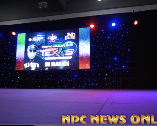 2020  @ifbb_pro_league South East Texas Check In Video