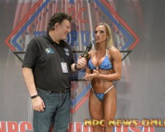 2020 NPC Junior USA Championships Bikini Overall Winner ALEXUS PACE-PATTERSON