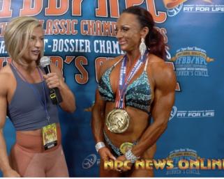 2020 IFBB Pro League Optimum Classic Interviews: Women's Physique  Winner Tanya Chartrand