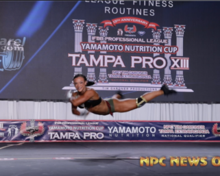 Fitness Routine Video: Darrian Borello From the 2020 IFBB Pro League Tampa Pro