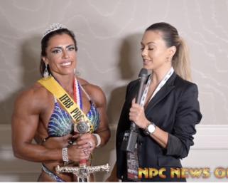 2020 IFBB Pro League Tampa Pro Women's Physique Winner Ivie Rhein After Show Interview