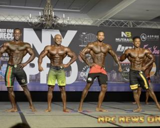 2020 IFBB Pro League NY Pro Men's Physique FInals Video