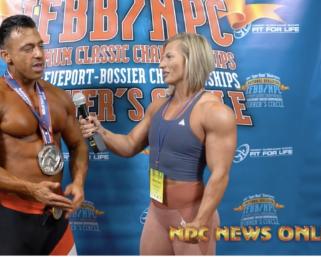 2020 IFBB Pro League Optimum Classic Interviews: Men's Physique 2nd Place Arya Saffaie
