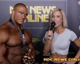 2020 NPC North American Bodybuilding Overall Winner Nicholas Walker After Show Interview