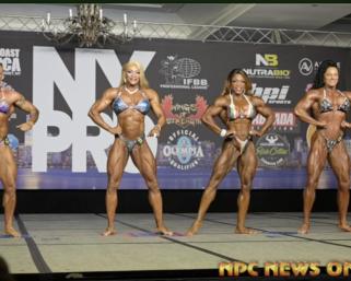 2020 IFBB Pro League  NY Pro Women's Bodybuilding FInals