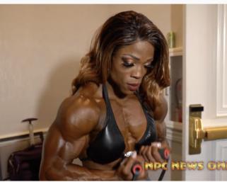 2020 @ifbb_pro_league NY Pro Women's Bodybuilding Backstage Video