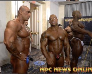 2020 @ifbb_pro_league NY ProMen's Bodybuilding Backstage Video.