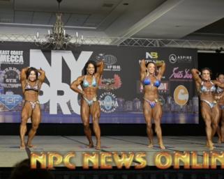2020 IFBB Pro League  NY Pro Women's Physique Finals & Awards Video