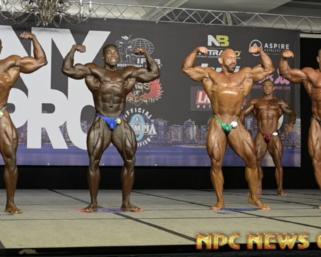 2020 IFBB Pro League NY Pro Men's 212 FInals Video
