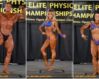 2020 NPC Elite Physique Championships Contest Photos
