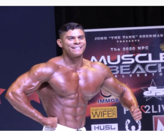 2020 NPC Muscle Beach Classic Men's Physique Overall Video
