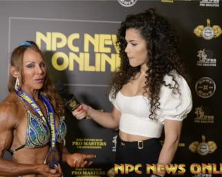 2020 NPC Teen Collegiate Masters Nationals Women's Bodybuilding Winner Interviews COMPILATION