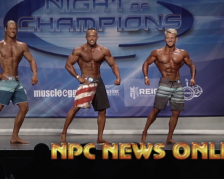 2020 NPC Night of ChampionsMen's Physique Finals Video