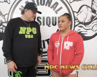 2020 Road To The Olympia Interview with @ifbb_pro_league Women's Physique Competitor Rachel Daniels