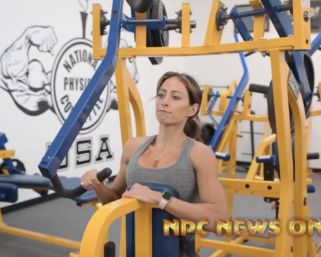 2020 Road To The Olympia: IFBB Pro League Bikini Competitor Casey Samsel Training Back and Shoulders