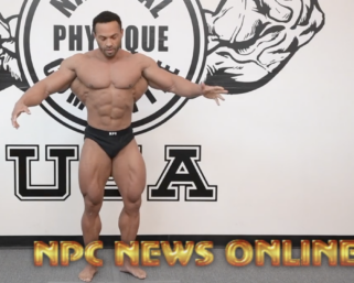 2020 Road To The Olympia with @ifbb_pro_league Classic Physique Pro Alex Cambronero Posing Video