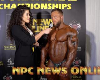 2020 NPC National Championships Bodybuilding Overall Winner Jonathan Withers