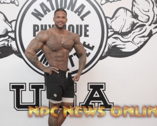 2020 Road to the Olympia Clarence Mcspadden Posing Video