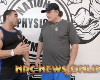 Olympia Interview with  @ifbb_pro_league 212 @mrolympiallc @ifbb_pro_kamal_elgargni