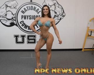 2020 Road To The Olympia: Bikini Olympia Champion Isa Pecini Posing Practice Video