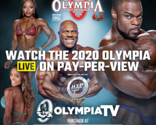 OLYMPIA PAY-PER-VIEW. ORDER NOW AND SAVE!!!