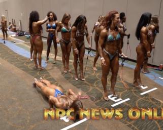 2020 NPC National Championships Women's Backstage Pt 4 Video