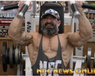 2020 Road To the Olympia: 212 Bodybuilder Guy Cisterino Training At the NPC Photo Gym
