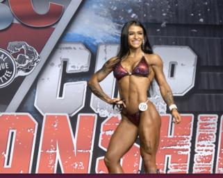 2020 NPC Texas Cup Bikini Overall Winner. Morgan Walston