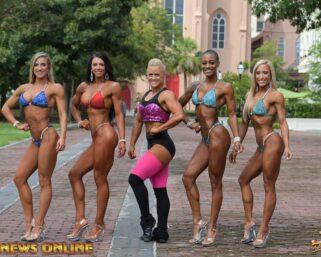 2020 NPC Junior USA Saturday Women's Overall Champions Photoshoot by J.M. Manion