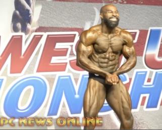 2020 NPC Southwest USA Championships Men's Classic Physique Overall Jahmaal Onoh