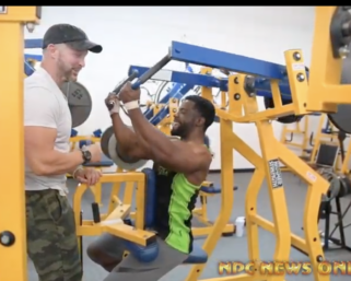 Trainer @fostertrained Trains #NPC Men's Bodybuilder Eric Wood and NPC Classic Physique Ken Rogers