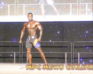 2020 IFBB Pro League Southeast Texas Men's Physique 5th Place Winner Charjo Grant