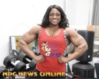 2020 IFBB Ms. Olympia Andrea Shaw Training Video