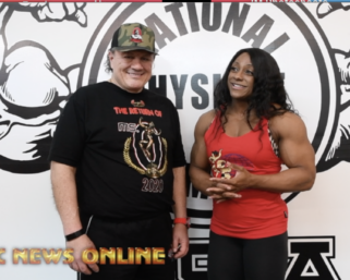 2020 IFBB Ms.Olympia Andrea Shaw interview with J.M. Manion for npcnewsonline.com