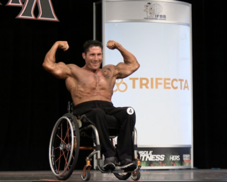 2020 Wheelchair Olympia 5th Place Johnny Quinn Posing Routine