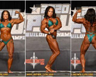 2020 NPC USA  Women's Bodybuilding Overall Winner MICHELLE DORNON