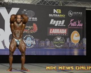 Bodybuilding Posing Routine Video: 2020 @ifbb_pro_league NY Pro Men's 212 Bodybuilding Winner Bo Lewis