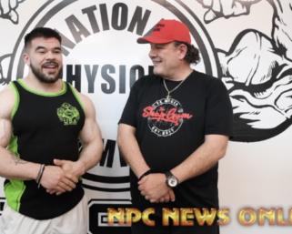 Road To The NPC Pittsburgh 2021: NPC Bodybuilder  Eleazar Miller interviewed by J.M. Manion